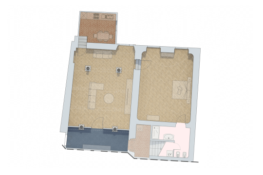 Apartment map Suite Imperiale